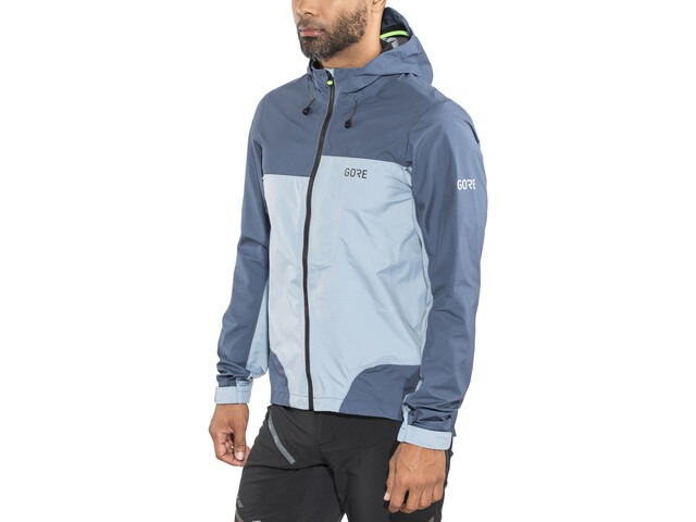 GORE WEAR C5 Gore-Tex Active Trail Veste à capuche Homme, deep water blue/cloudy blue